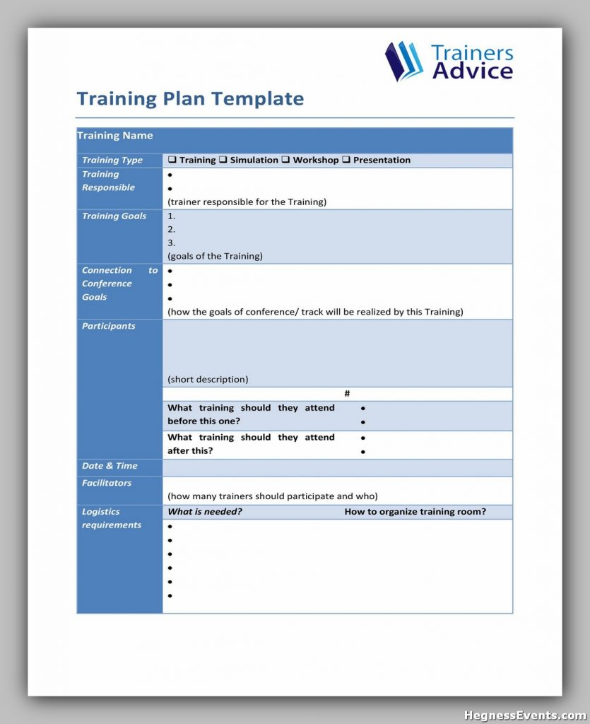 Training Manual Template Free 31