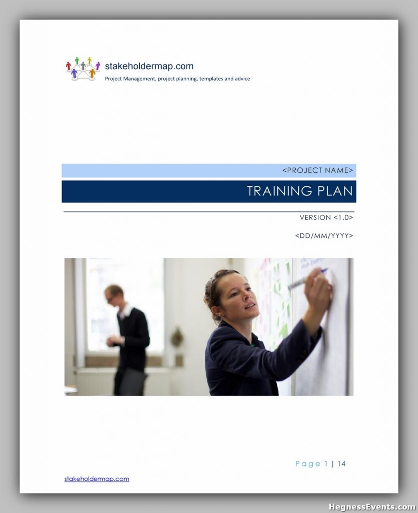 Training Manual Template Free 34