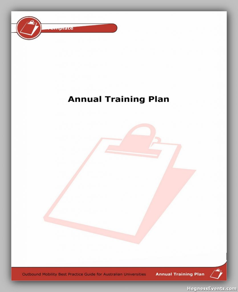 Training Manual Template Free 38