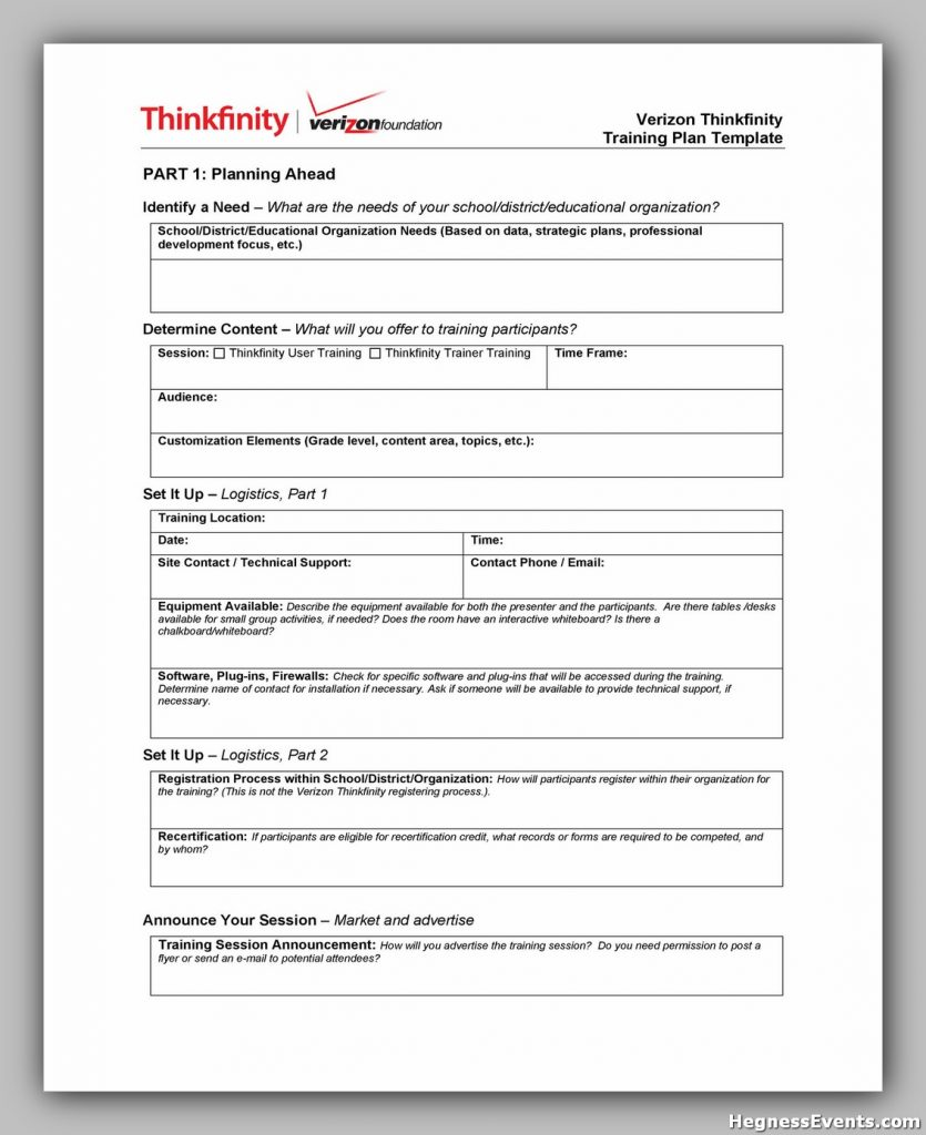 Training Manual Template Free 40