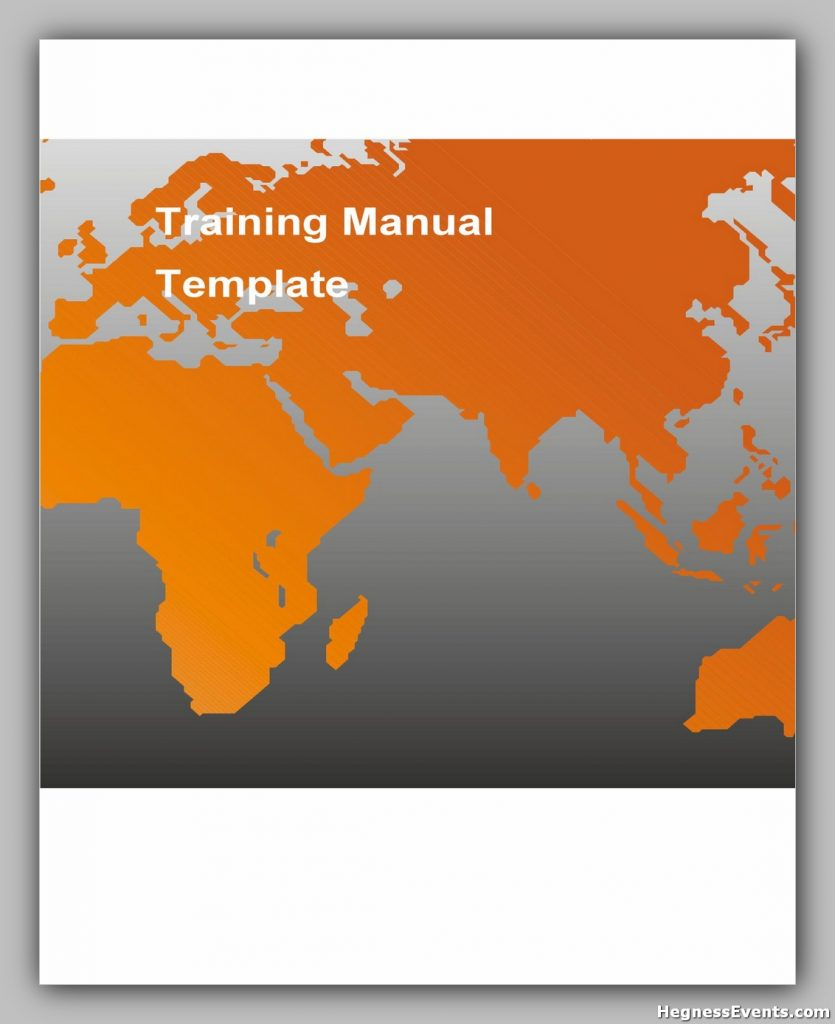 Training Manual Template Word 13