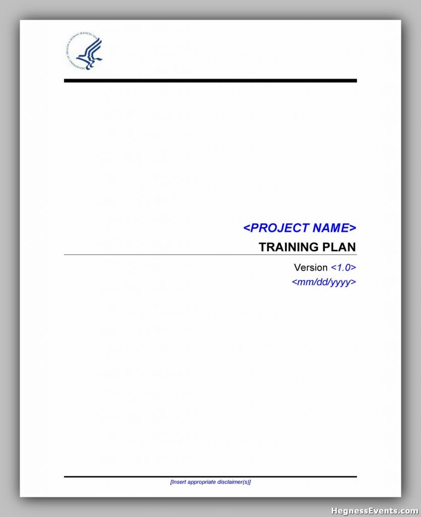 Training Manual Template Word 23