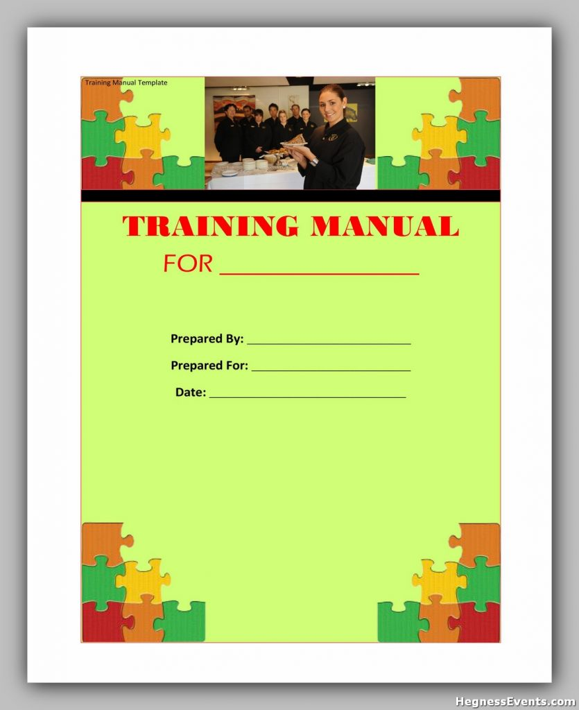 training manual template 07