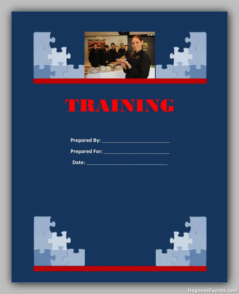training manual template 12