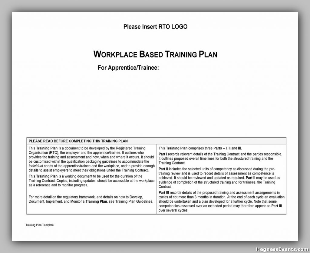 Serving Training Manual Template 35