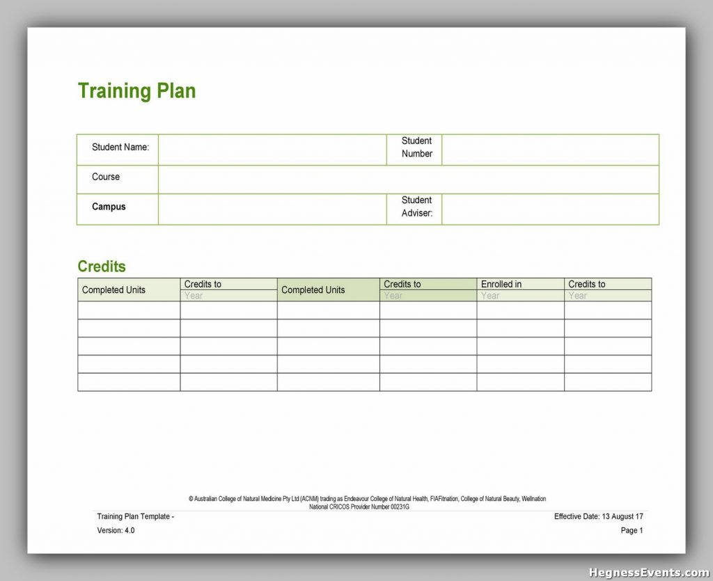 Serving Training Manual Template 36