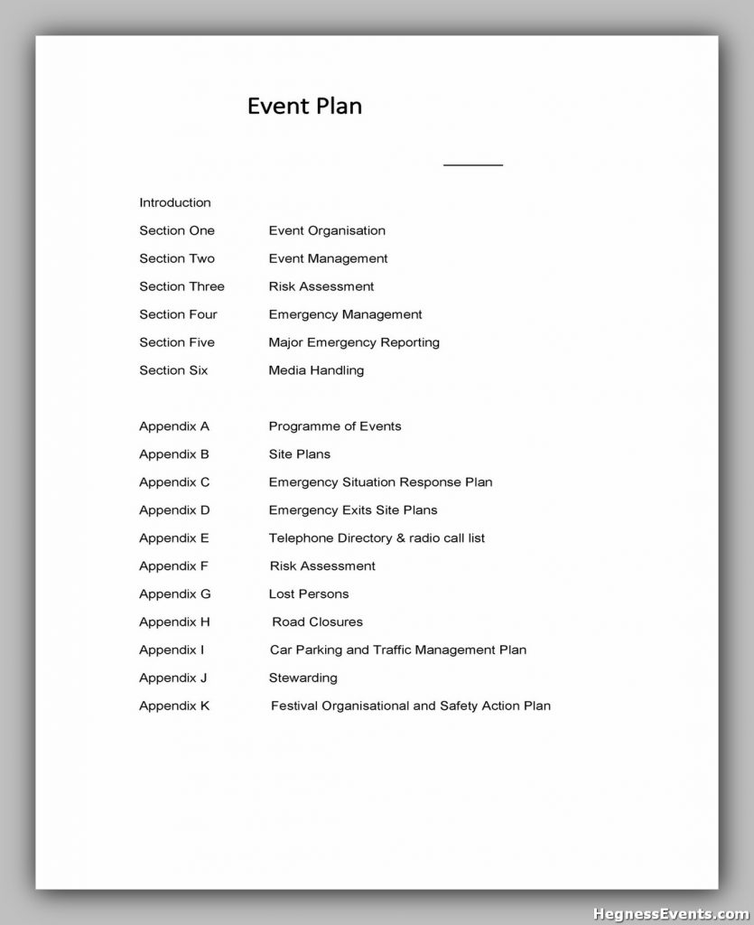 Event Planning Template 04