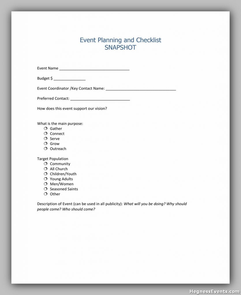 Event Planning Checklist 02