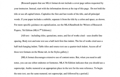 Apa research paper template Pdf