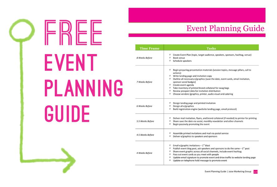 3 important things for your event planning business plan