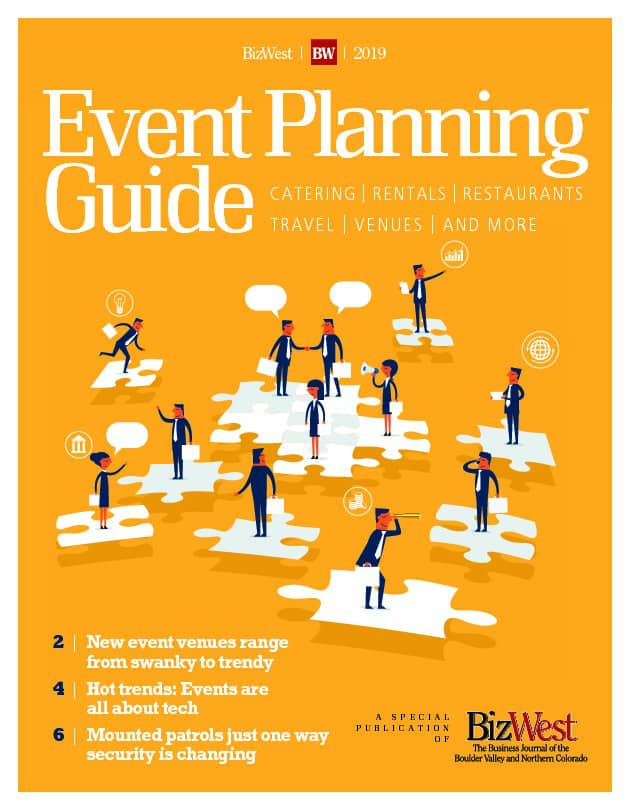 Event planning guide book