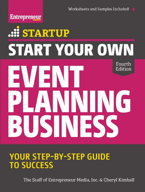 Start Your Own Event Planning Business, 4th Edition Entrepreneur
