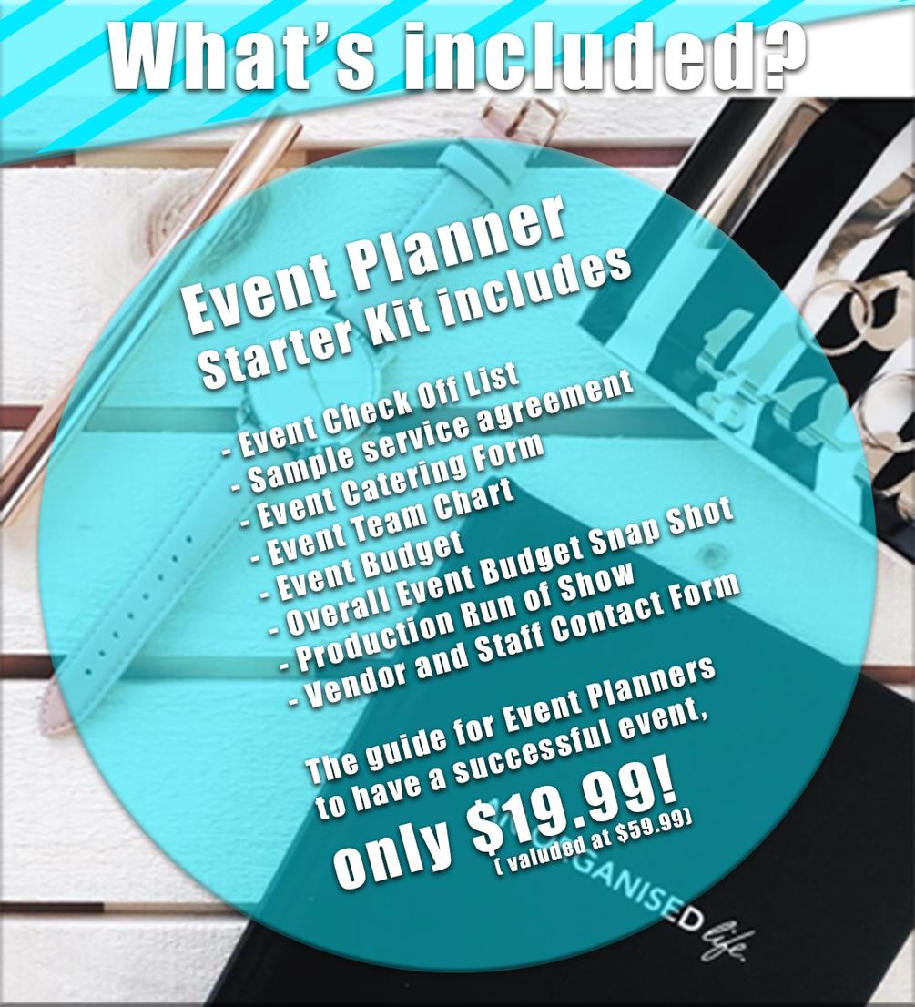 Event Planner Starter Kit Start Planning Better Events Today!