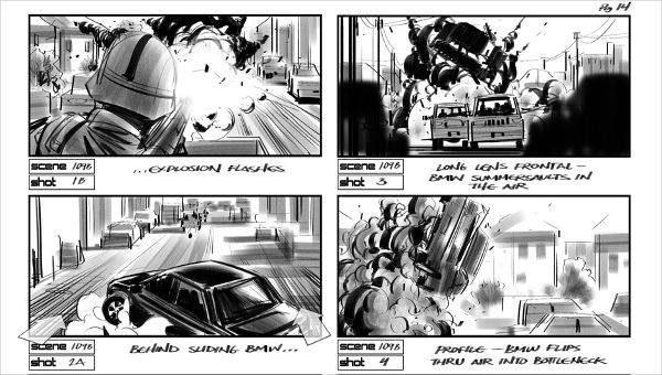 Film Storyboard Examples