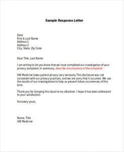 writing service complaint letters