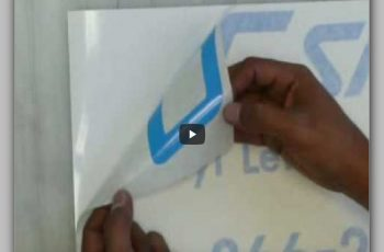 How To Apply Vinyl Lettering