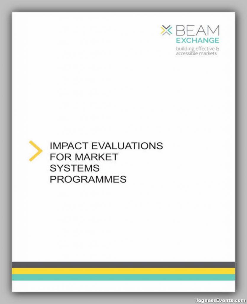 Impact Evaluation for Market Systems Programmes