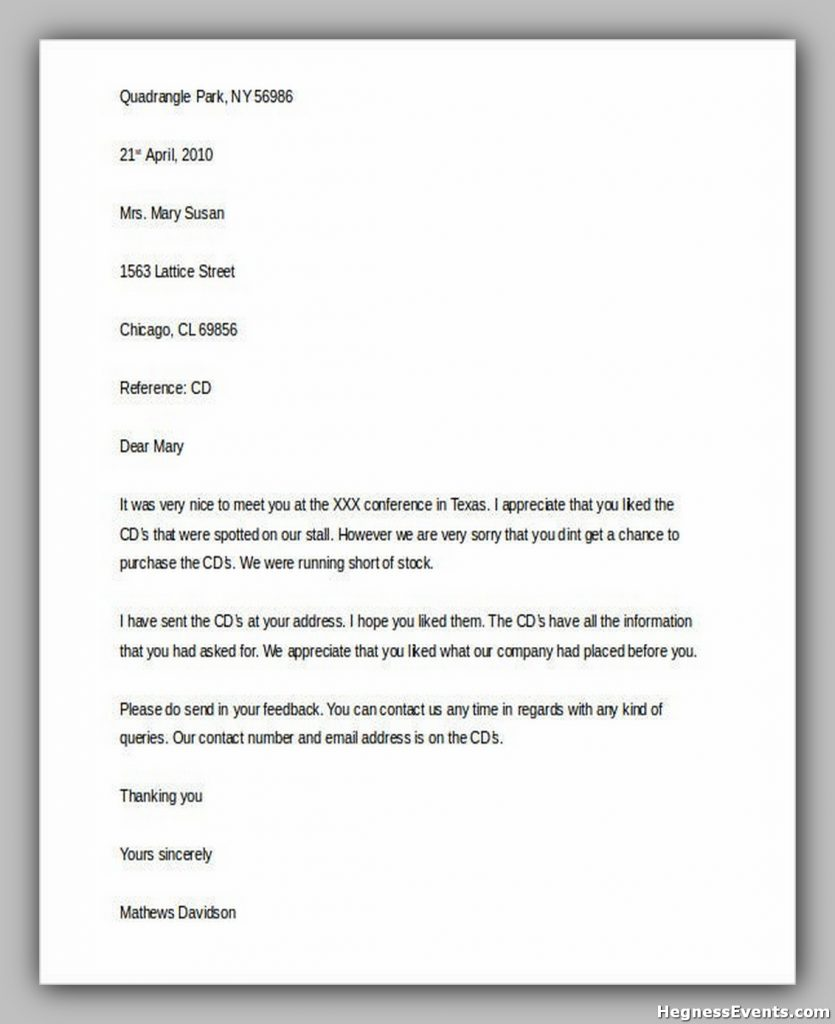Professional Business Complaint Letter