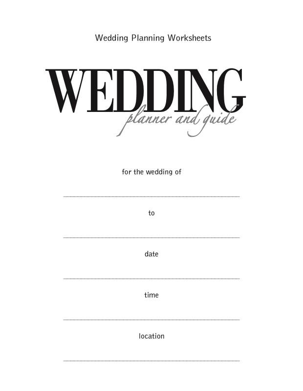 Wedding Reception Guest List