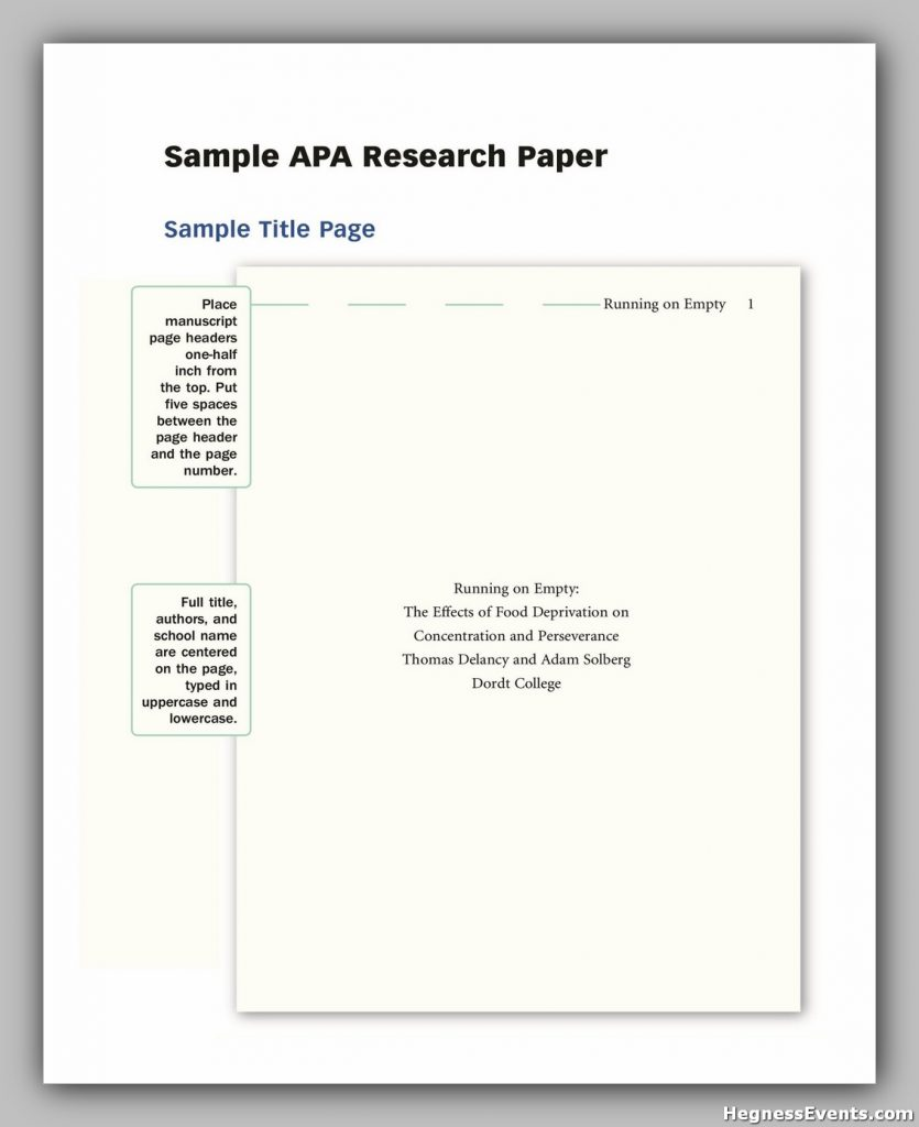 apa research paper template 16