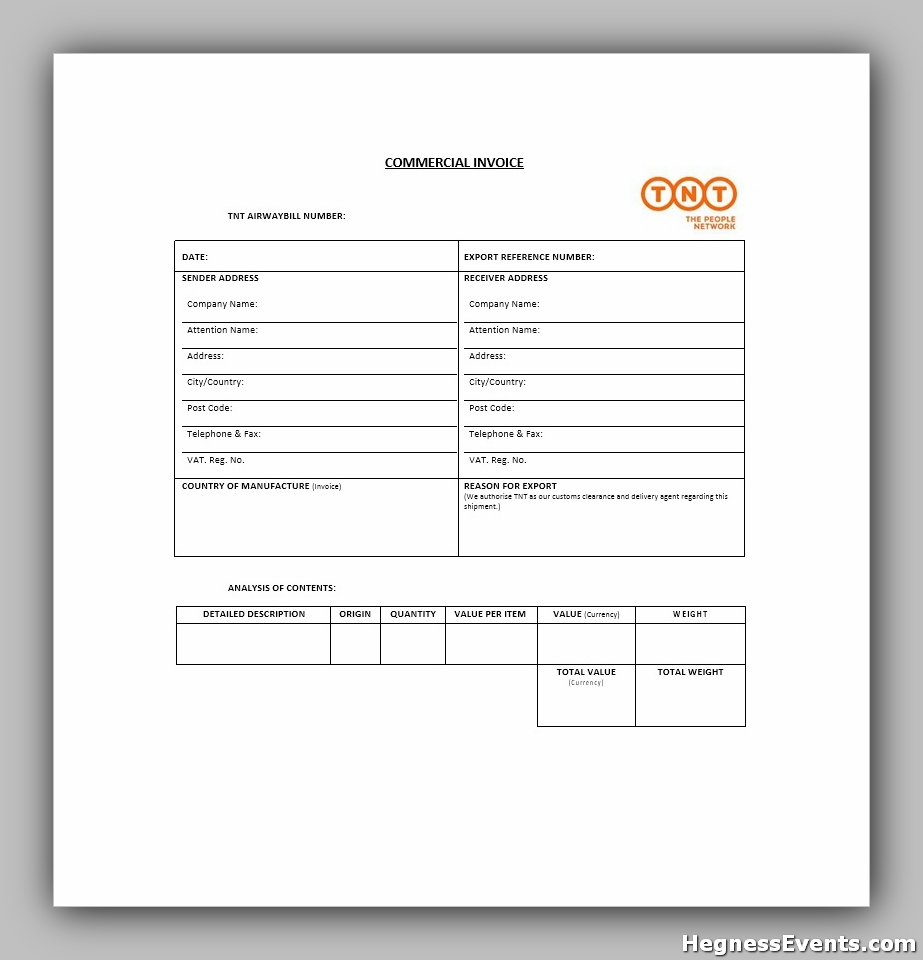 invoice example template 22