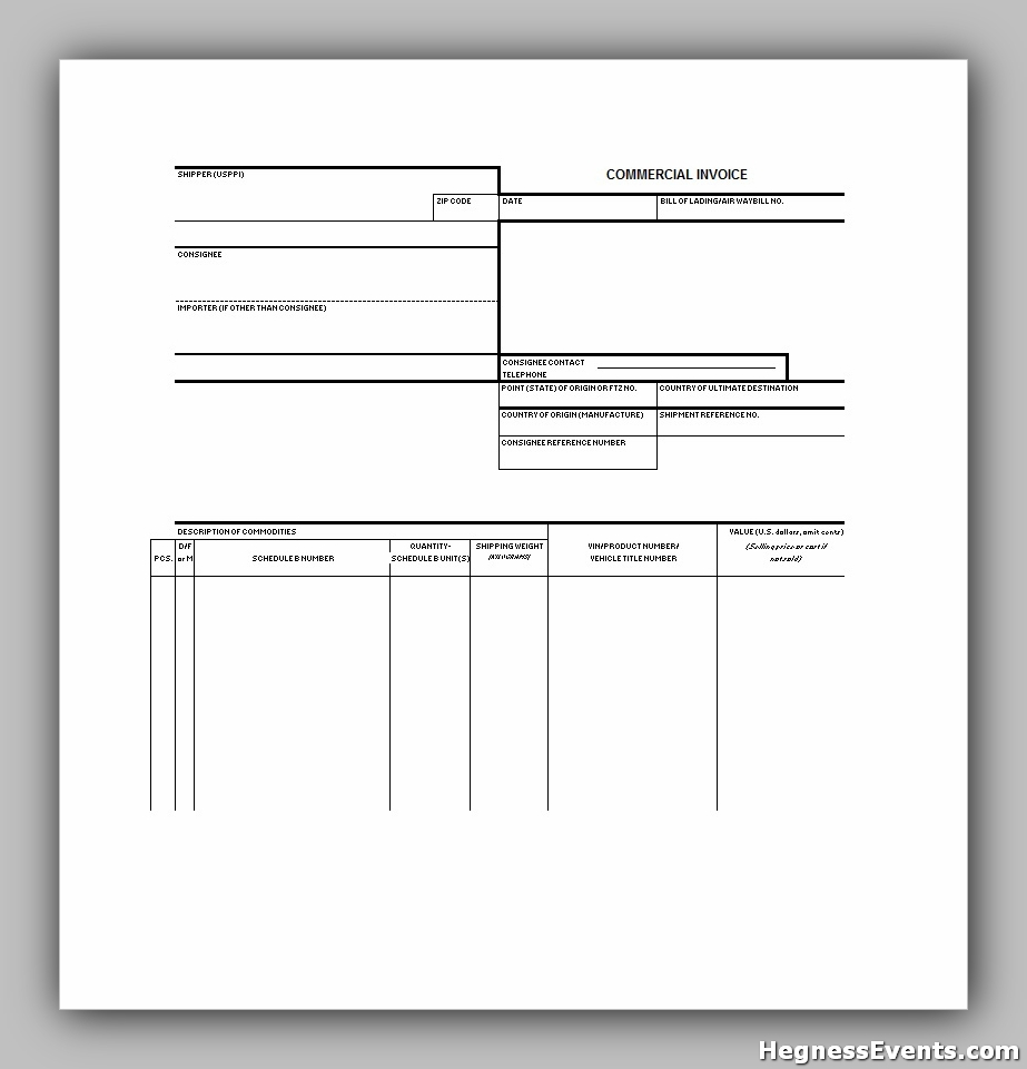 invoice example template 30
