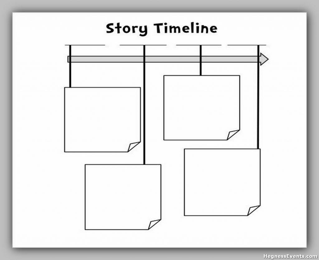 Blank Story Timeline