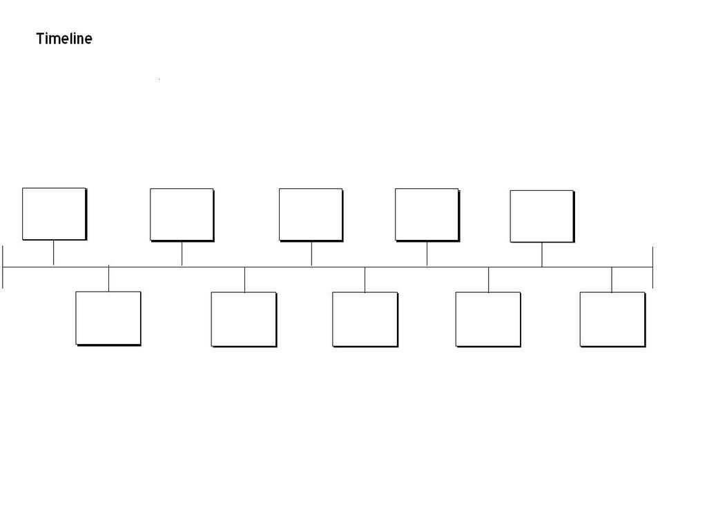Blank Timeline Template for PowerPoint