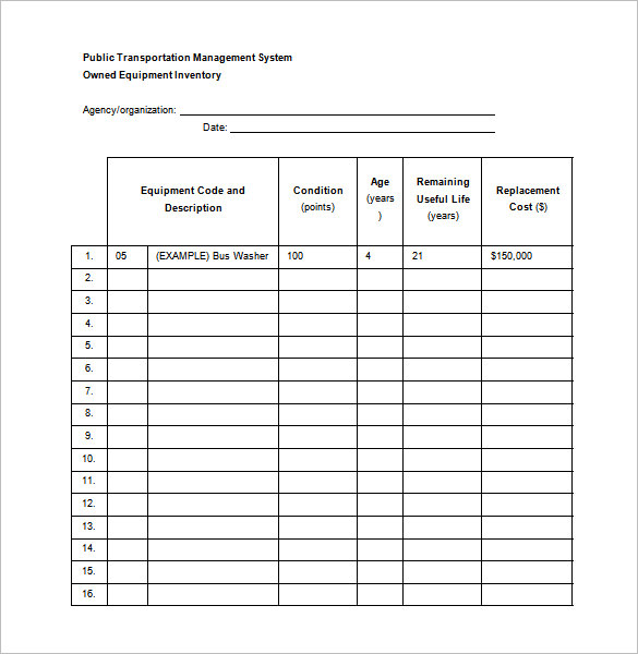maintenance schedule template preventive maintenance schedule template word doc download