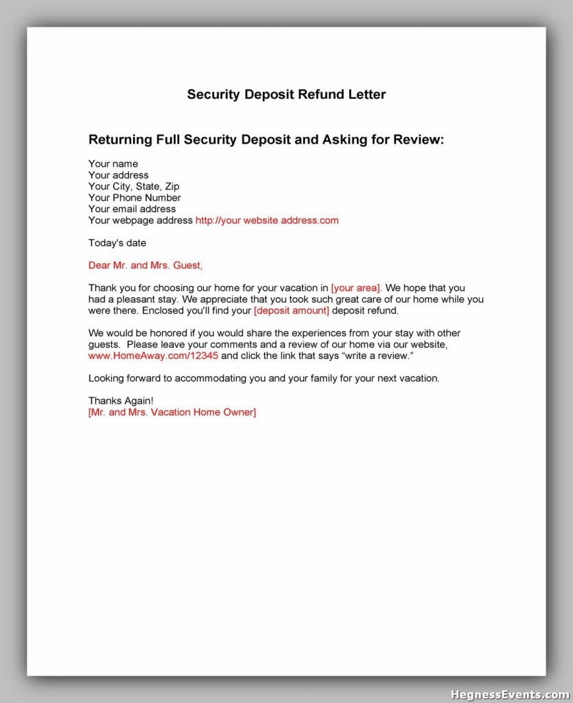 security deposit letter template 02