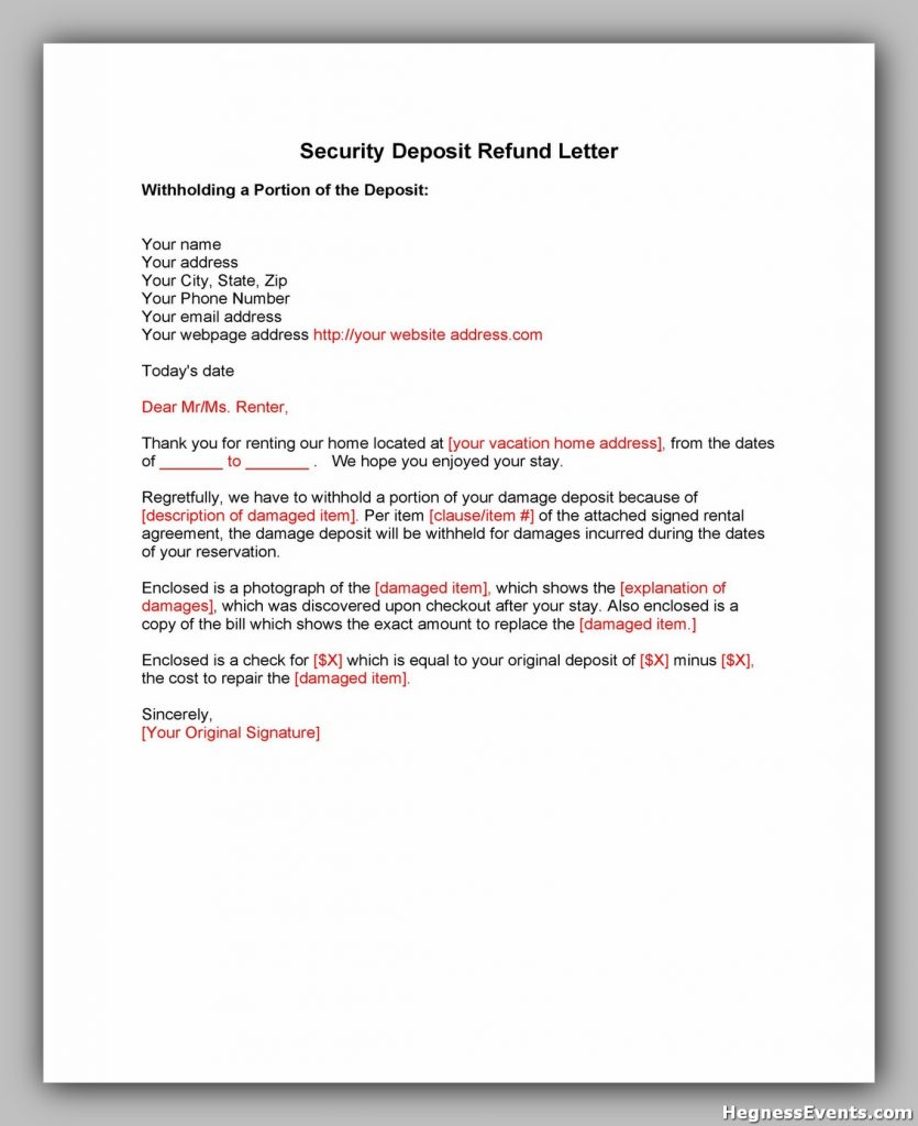 security deposit letter template 03