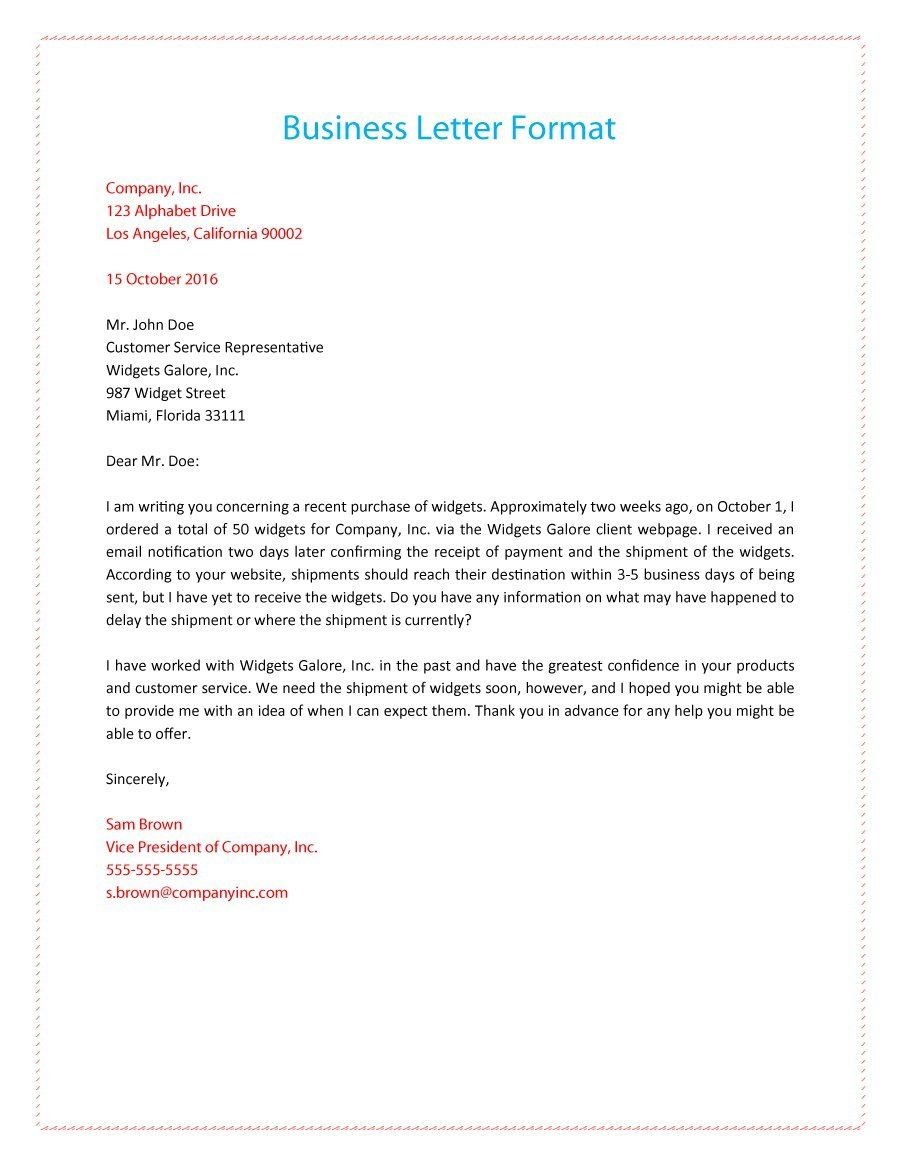 business letters 20557373089fc88e3cb63ad448523ad2
