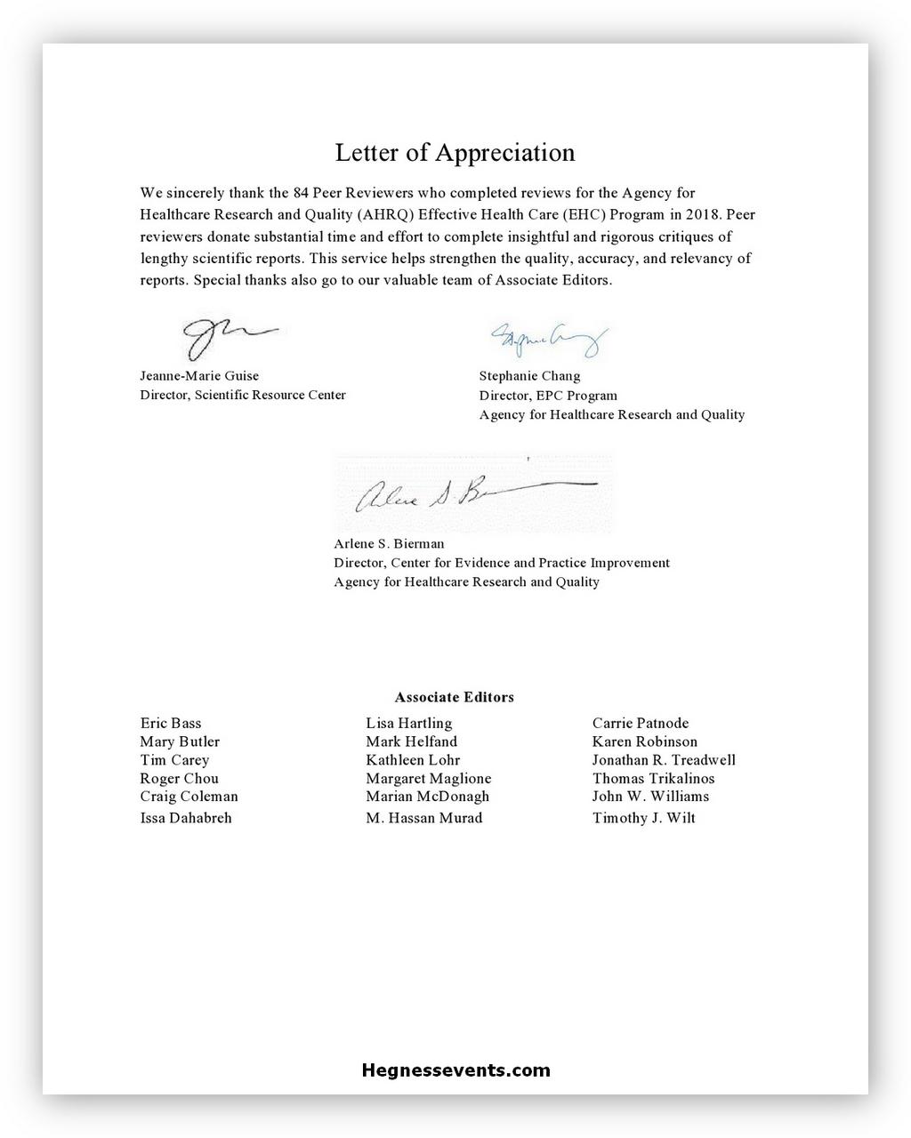 Appreciation Letter 05