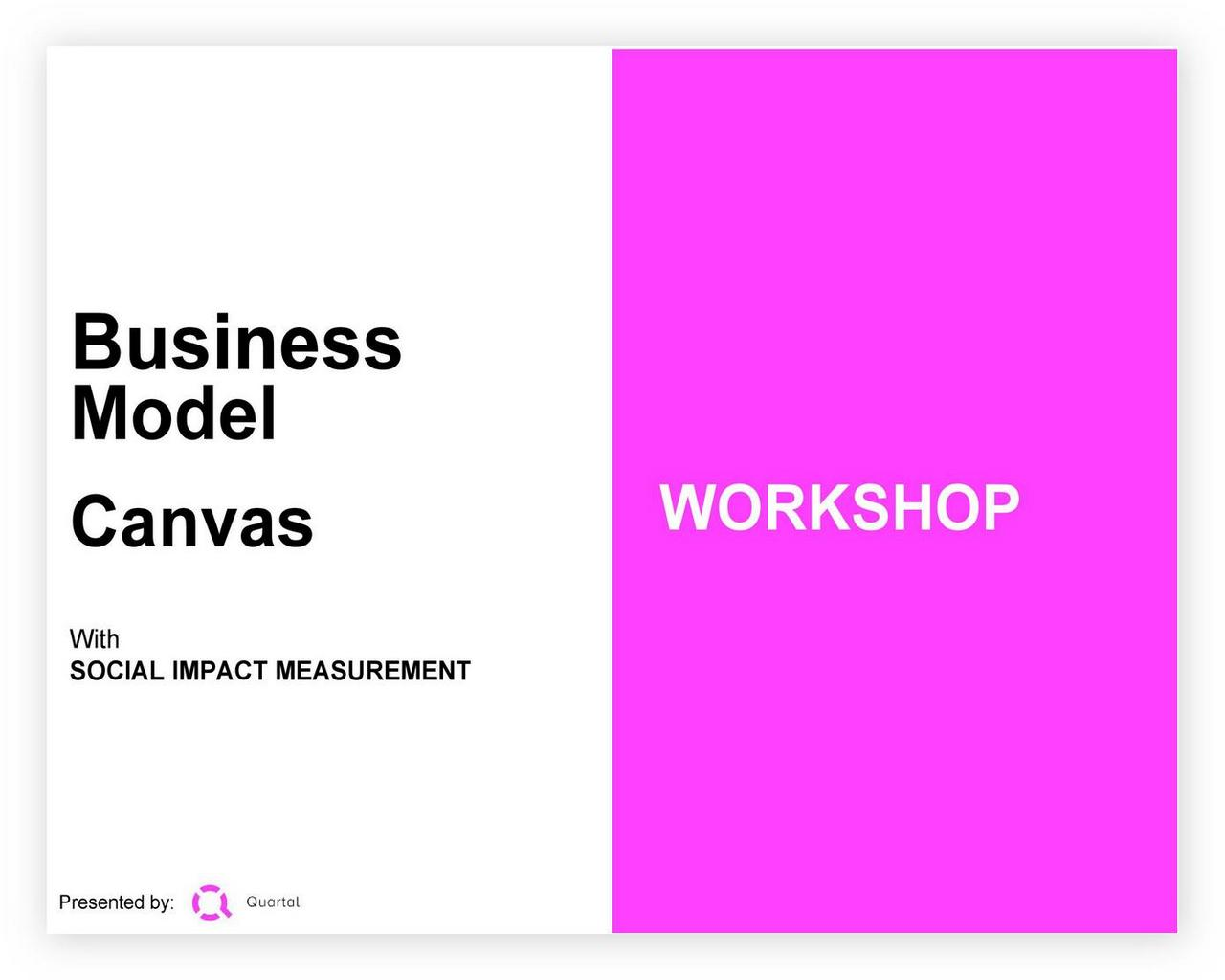 Business Model Canvas Template 09