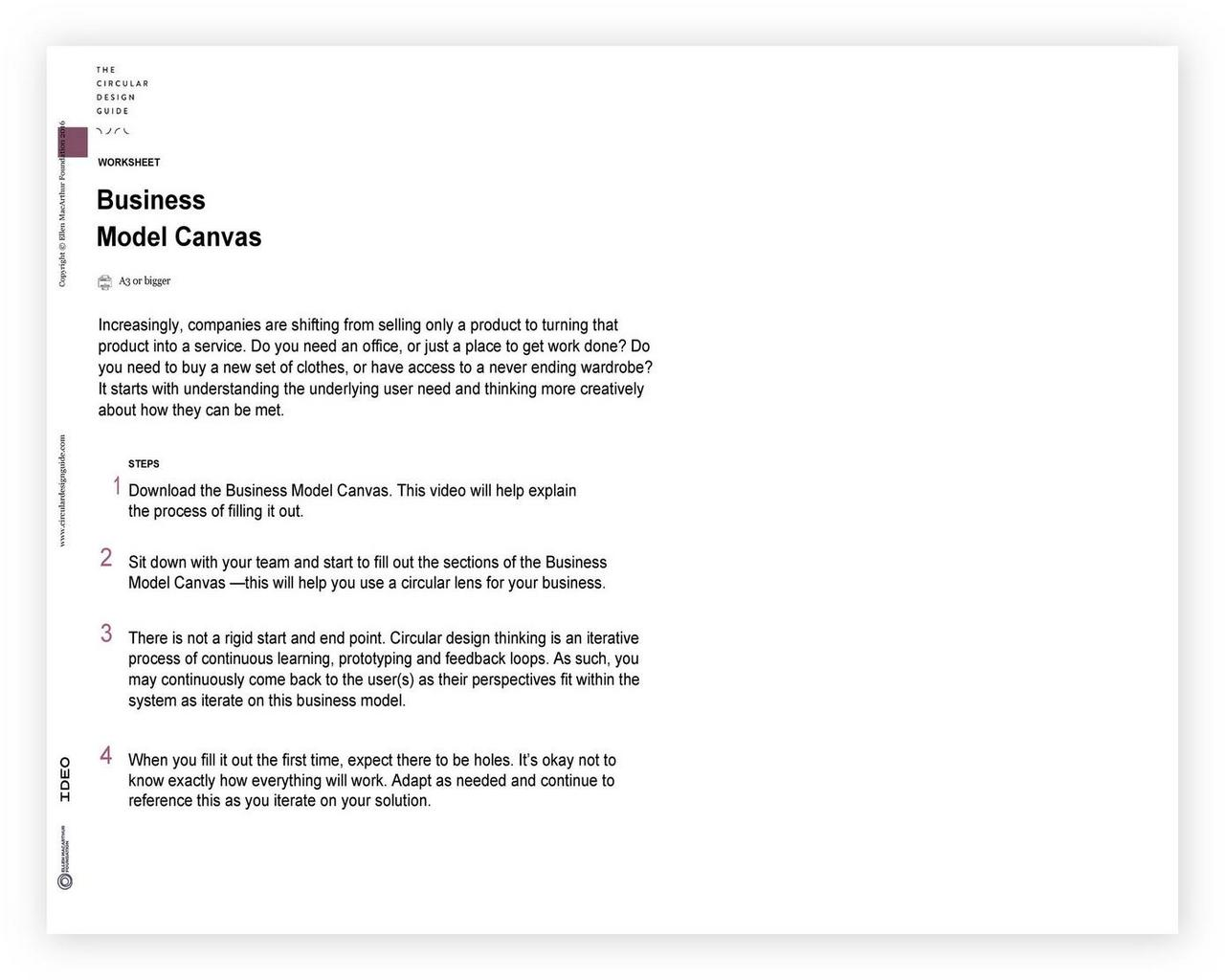 Business Model Canvas Template Word 18