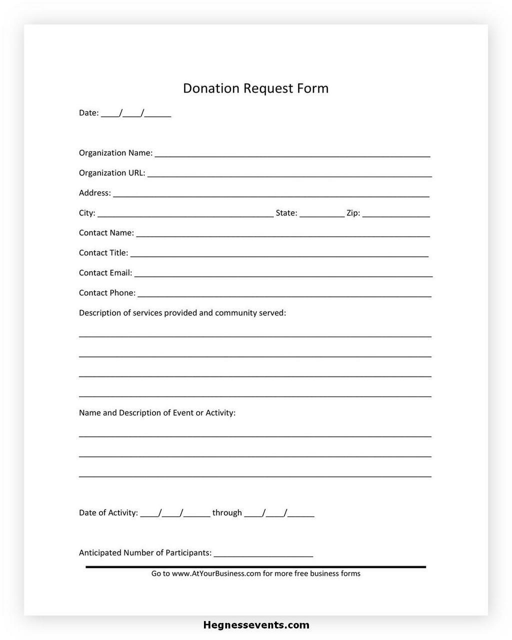 Donation Letter Request 01
