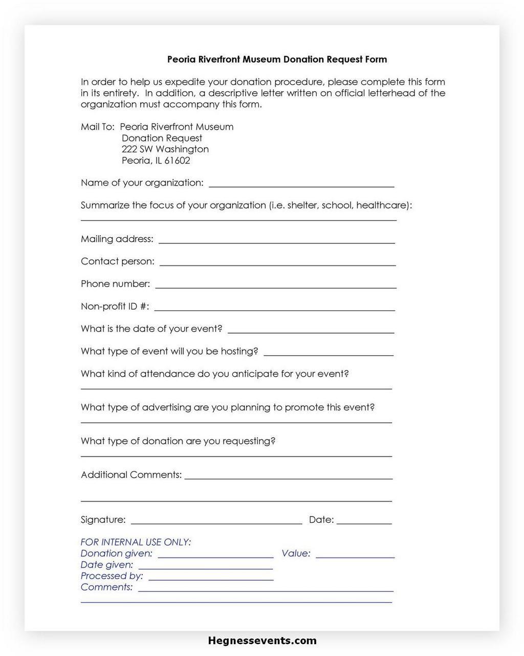 Donation Letter Request 02