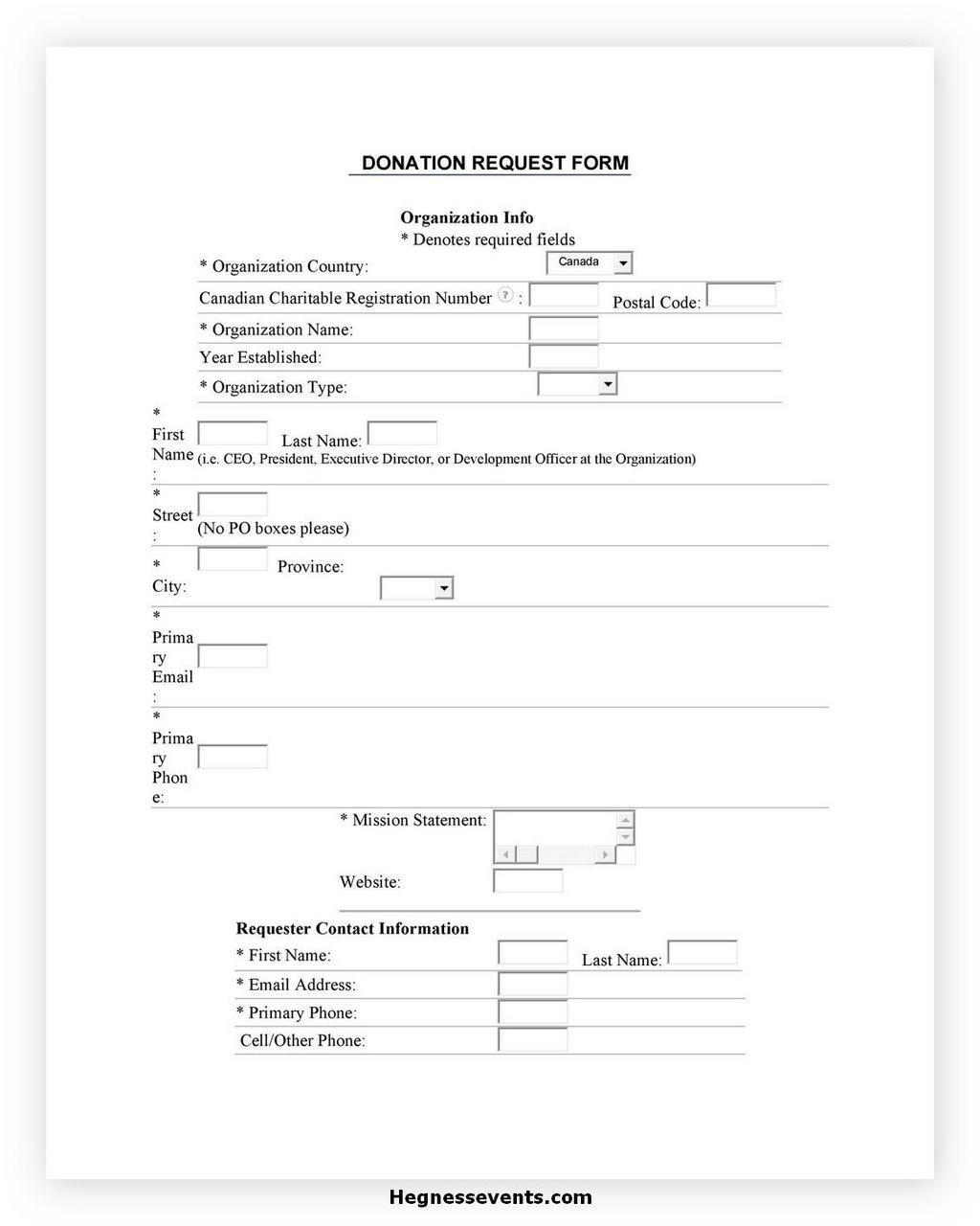 Donation Letter Request 04