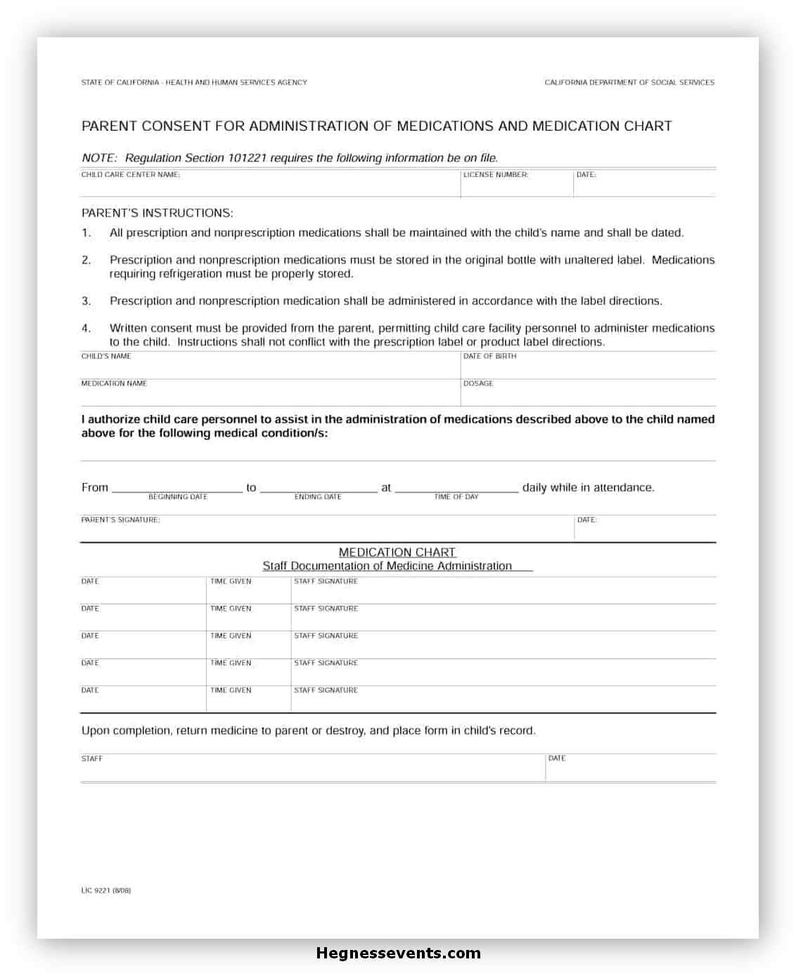 Medical Consent Form Printable 05