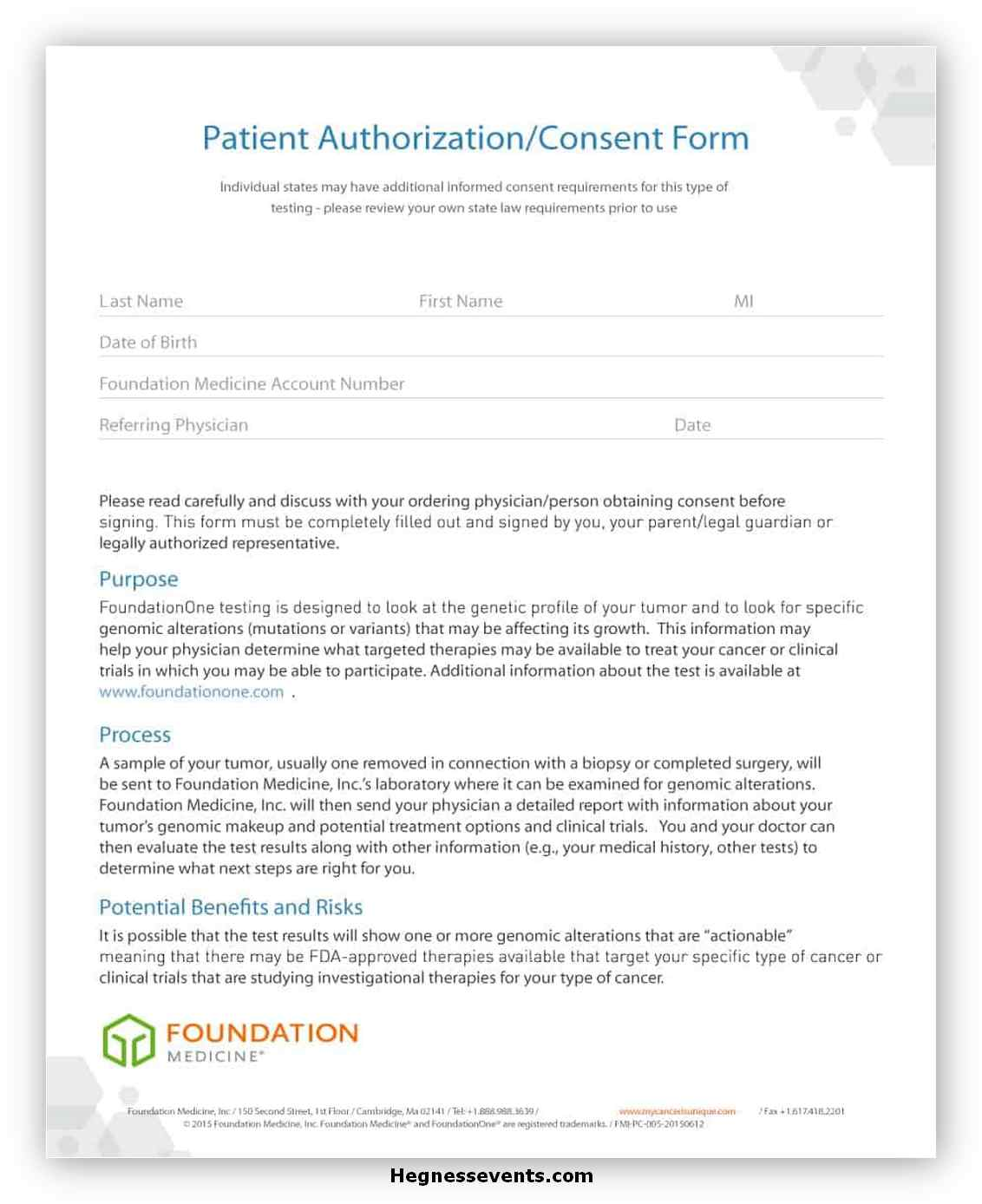 Medical Consent Form Template 08