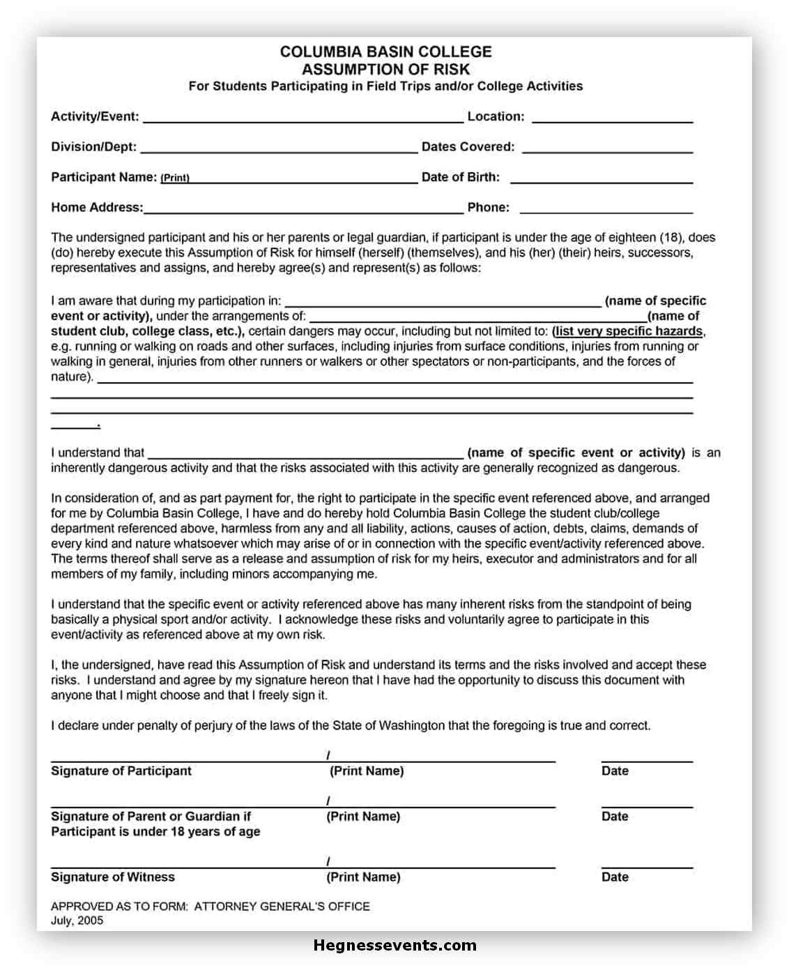 Medical Consent Form Template 15