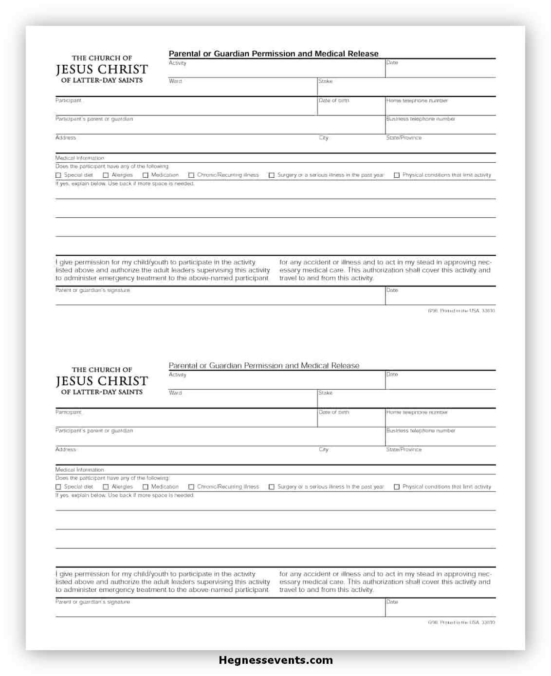 Medical Consent Form for Grandparents 03
