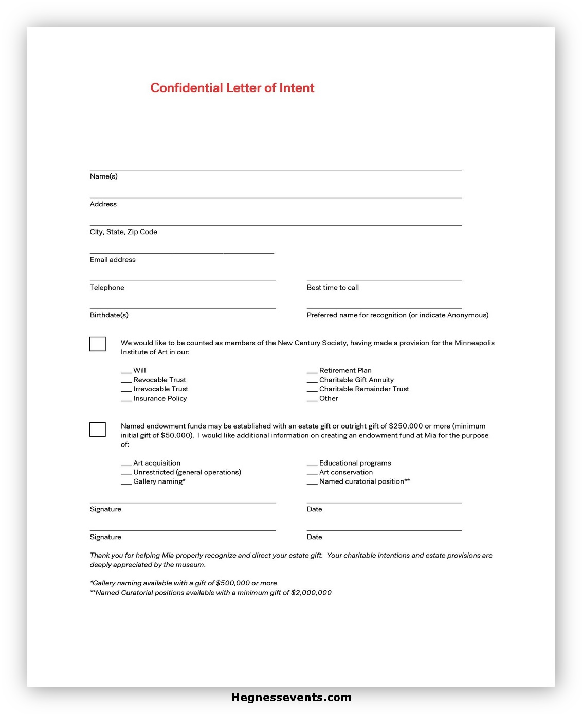 Sample Letter of Intent 06